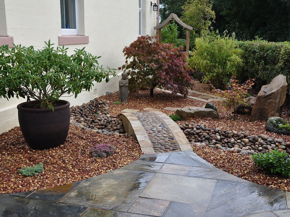 Landscapers cockermouth landscapers carlisle landscapers for Japanese themed garden ideas