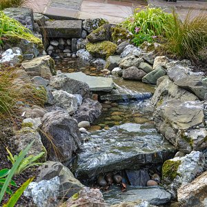 Riverbed waterfeature 1