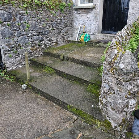 Before: Kendal old steps