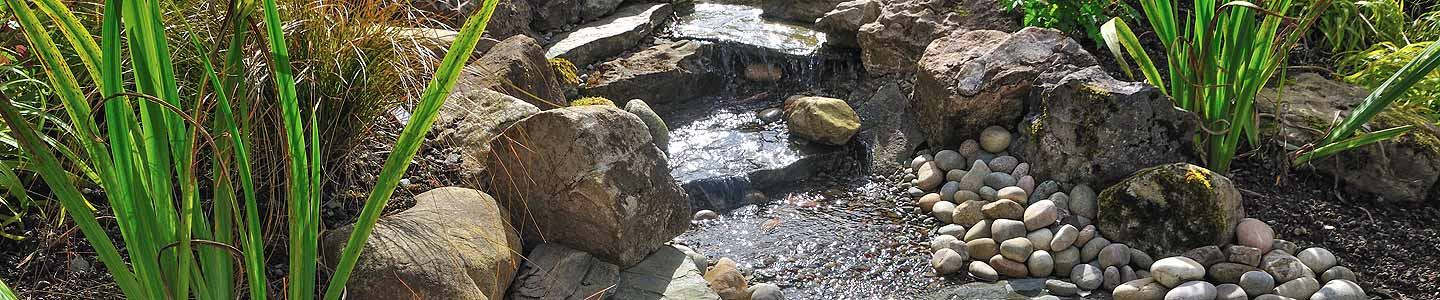 Photo: water cascade by Wildroof Landscapes Penrith Cumbria